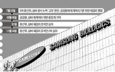 '분식 혐의 논쟁' 삼성바이오로직스, 증선위 앞두고 30만원 붕괴 우려