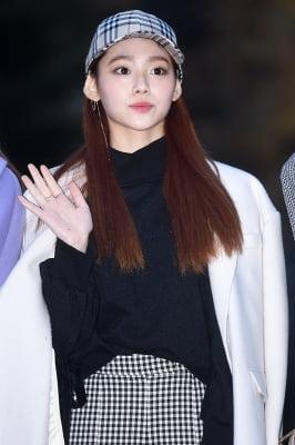 구구단 미나, '모자로도 가릴 수 없는 예쁨'