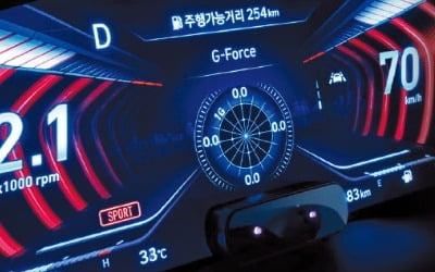 디지털 3D, 스마트 더하다…車 계기판 '화려한 변신'