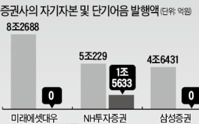 초대형IB 출범 1년, 규제에 막힌 '한국판 골드만삭스'…발행어음 5조에 그쳐