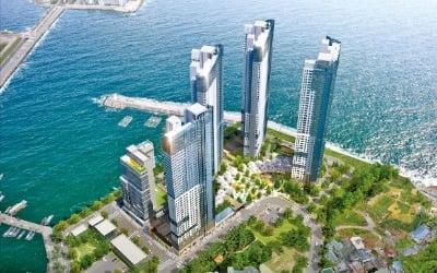 부산 오션시티 푸르지오, 바다 인접 살린 설계…커뮤니티엔 아쿠아필드