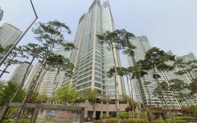 용산 대표 주상복합 '파크타워' 전용 124㎡ 23.5억 호가