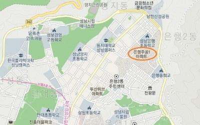 성남 '은행주공' 재건축, 시공사 선정 2파전