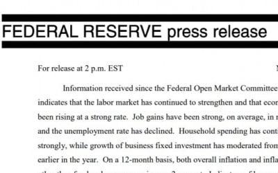 10월 증시 폭락에 반응하지 않은 Fed