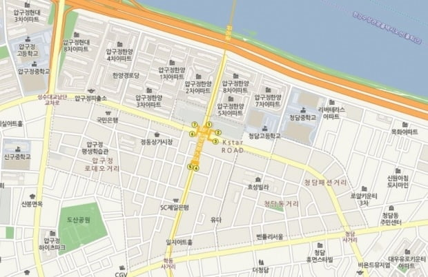 압구정동 '한양5차' 전용 102㎡ 8월 23억원 실거래