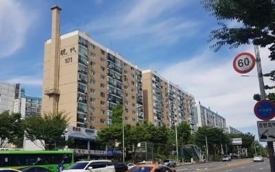 청담역 초역세권 '현대1차' 전용 95㎡ 15억원대