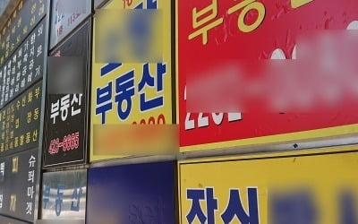강남 재건축 아파트값도…4개월 만에 '하락' 전환