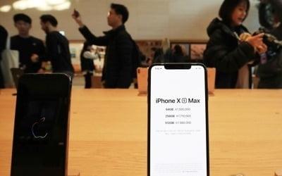 쪼그라드는 북미 스마트폰 시장…애플만 출하량 늘려