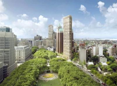 38층 미국 뉴욕 고급 아파트 '원클린턴' 국내 분양