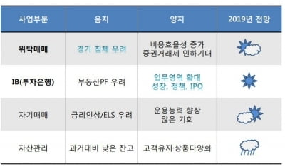 """""""내년 증권사 사업부문, IB 유망할 것"""""""