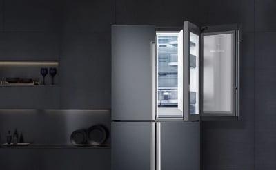 '백색가전' 이젠 옛말…삼성·LG 냉장고 90% 메탈 입었다