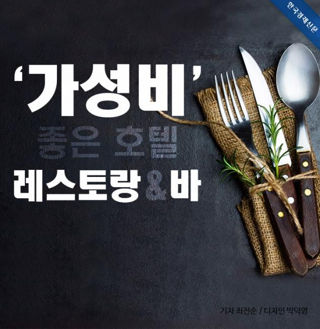 (카드뉴스) '가성비' 좋은 호텔 레스토랑 & 바