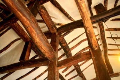 69년 된 통나무 골조 살려 지은 전원주택