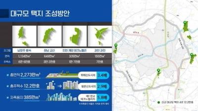 남양주 왕숙·하남 교산·인천 계양·과천 3기 신도시 지정(종합)