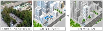 서울의료원·수색역 등 중소택지 32곳 3만호 공급