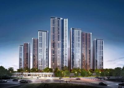 GS건설·코오롱 '남산자이하늘채' 28일 모델하우스 개관