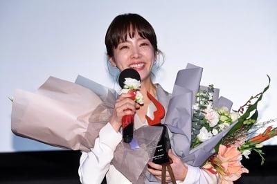 한지민, '기분 최고야~'(여성영화인축제)