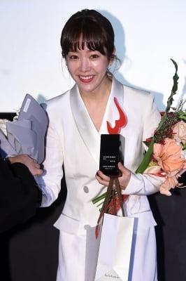 한지민, '꽃보다 아름다운 그녀'(여성영화인축제)
