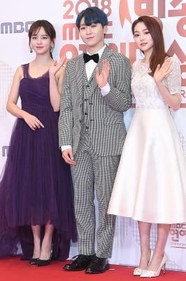 김소현-승관-미나, '사랑스러운 모습에 눈길~' (2018 MBC 방송연예대상)