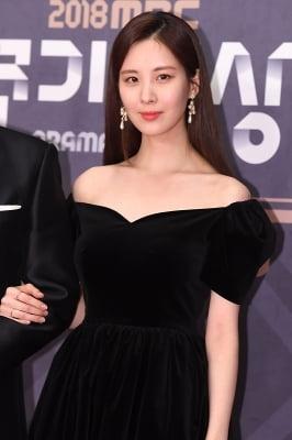 서현, '감탄을 부르는 미모~' (2018 MBC 연기대상)