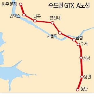 GTX-A 이르면 연내 착공…신안산선도 민투심 통과