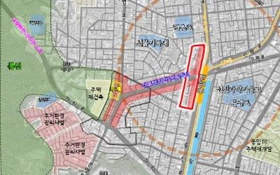 """지하철 6호선 응암역 일대 획지계획 변경… """"민간개발 유도"""""""