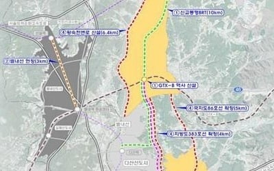 [3기 신도시] 남양주 등 택지개발 예정 지자체 '환영'