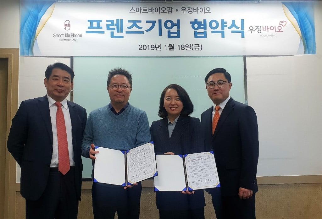 우정바이오, 스마트바이오팜㈜와 신약후보물질의 임상시험용 시약생산을 위한 GMP 시설 구축 협의