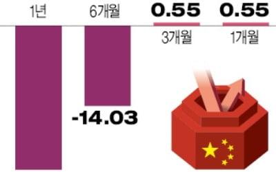 다시 돈 들어오는 중국펀드…올해 들어 수익률 5% 육박