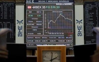 유럽증시, 중국 경제동향 주시하며 혼조세 마감
