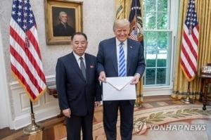 김영철, 트럼프에 '김정은 친서' 건네…정상회담 발표 나올까
