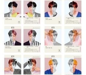 방탄소년단 티머니 카드, CU편의점서 20만장 한정 판매
