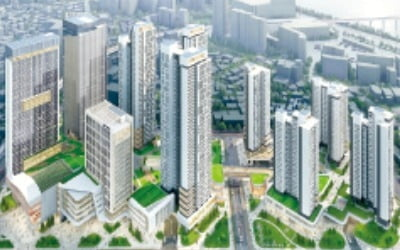 구의역 일대 최고 34층 복합단지