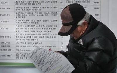 1분기 노인 53만여명에 공공일자리…실업률 고공행진 지속하나
