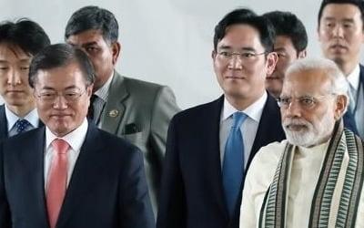 모디 총리의 '이재용·정의선 사랑'(?)…인도 산업 영향력 막강