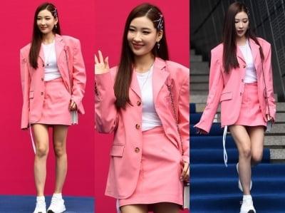 이사배, 봄을 부르는 핑크 패션 '발랄함 UP'