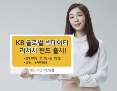 KB자산운용, KB글로벌빅데이터리서치펀드 출시