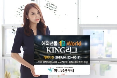 하나금융투자, 해외선물 실전투자대회 '1Q World KING 리그' 개최