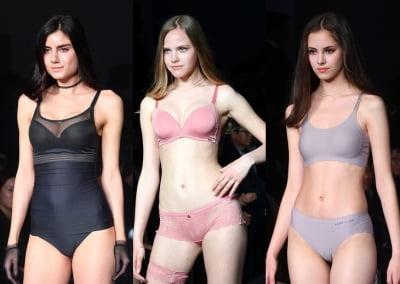 화려한 란제리 패션쇼, 눈을 뗄 수 없는 이기적인 몸매