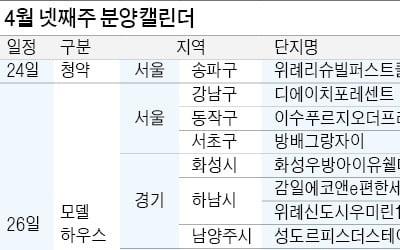 방배·일원 등 강남권 분양 재개