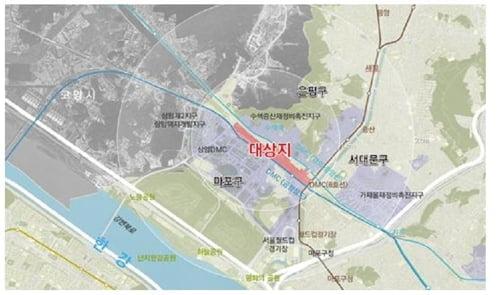 서울 수색역세권, 서북권 광역중심 된다…32만㎡ 2022년 착공