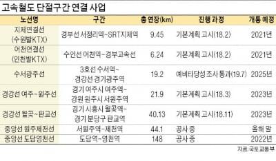 '속도 혁명' KTX驛 주변 새 투자처 각광