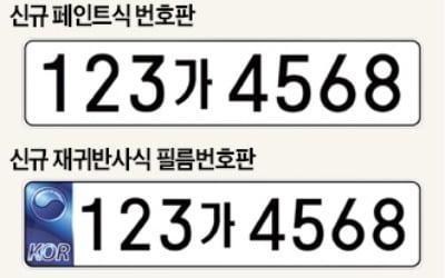 '8자리 車번호판 도입' 1주일 앞인데…번호인식 시스템 업데이트율은 46%