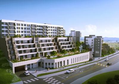 전원주택의 안락함과 아파트의 편리함을 동시에, 'e편한세상 용인 파크카운티'