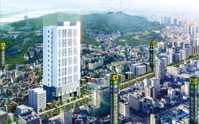 오렌지카운티남산, 동대문 중심가 '복층형 오피스텔'