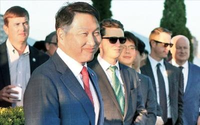 """최태원 """"韓기업, 지금 같은 지정학적 위험은 처음"""""""