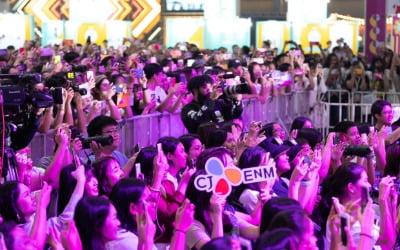 CJ ENM 태국 케이콘에 4만5000명 몰려…여성 관객 대상 신설 프로그램 인기