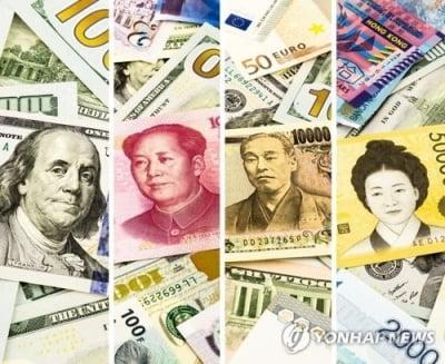 중국 지표 호조·분기말 달러매도에 원/달러 환율 하락 마감