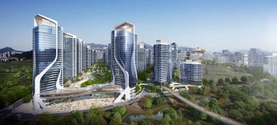 대림산업, 한남3구역 '아크로 한남 카운티' 설계 공개
