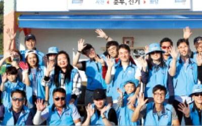 현대차동호회, 정류장 환경개선 봉사